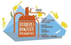 Brauereikonzert, Konzerte in Oberaudorf, Oberaudorfer Konzert, Privatbrauerei Oberaudorf, Oberaudorfer Privatbrauerei