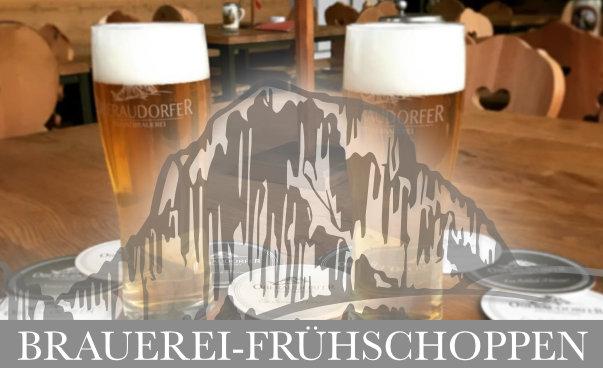 Brauerei Frühschoppen jeden Sonntag ab 10 Uhr in der Oberaudorfer Privatbrauerei
